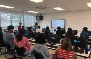 El Instituto Técnico Superior Especializado (ITSE) inició hoy su primer cuatrimestre de clases en la Escuela de Negocios.