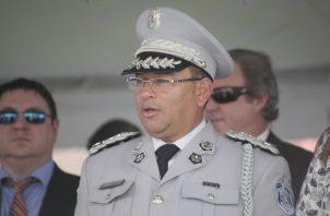 Jacinto Gómez, comisionado de la Policía Nacional. Foto de archivo