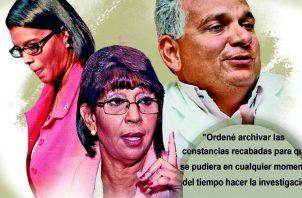Choque de criterios entre la fiscal Zuleyka Moore y la exprocuradora Ana Belfon por caso contra Jaime Lasso. Ilustración Epasa