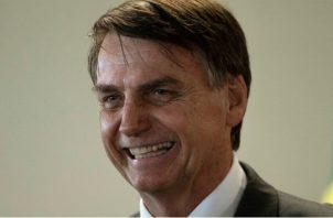 """El portavoz también subrayó que Bolsonaro, en el poder desde el pasado 1 de enero, tiene un """"ánimo excelente""""."""