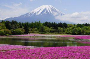 En Japón no deje de visitar el Monte Fuji.  Cortesía