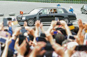 A la audiencia asistieron el resto de miembros adultos de la Familia Imperial nipona.