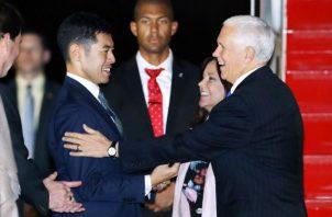 Se trata del tercer viaje a Asia del vicepresidente de EEUU desde su llegada a la Casa Blanca.