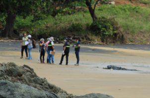 En el lugar, unas 40 personas colaboraron desde el domingo en las labores de búsqueda del joven. Foto/Thays Domínguez