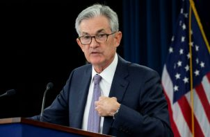 El presidente de la FED, dijo que la visión sobre los tipos de interés ha cambiado significativamente este año. Foto/EFE