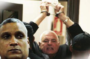 Jerónimo Mejía le niega el derecho a voto a Ricardo Martinelli en primarias de CD. Foto: Panamá América.