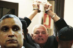Jerónimo Mejía tiene en la mira a Ricardo Martinelli; ya fijó como fecha de juicio el 11 de diciembre.  AchivoJerónimo Mejía tiene en la mira a Ricardo Martinelli; ya fijó como fecha de juicio el 11 de diciembre.  Achivo