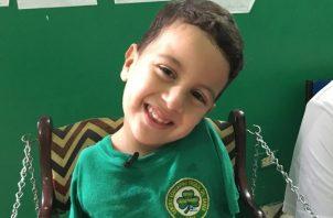 Jesús Daniel Ávila tiene 4 años y cursa el kínder. Juan Carlos Lamboglia