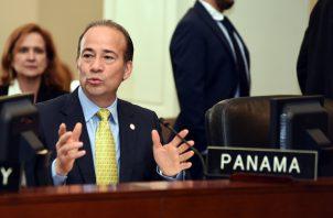 Jesús Sierra, embajador de Panamá ante la OEA, renuncia al cargo. Foto: Archivo Panamá América.