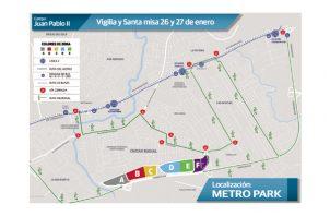 Presentan primera fase del plan de movilidad urbana para la JMJ 2019. Foto: Panamá América.
