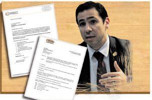 El titular del Ministerio de Seguridad Pública (Minseg), Jonathan Del Rosario