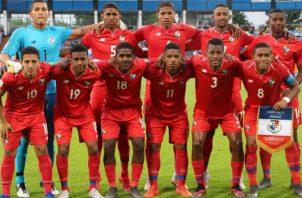 Selección Sub-20 de Panamá. Foto: Fepafut