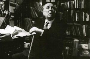 Jorge Luis Borges, escritor argentino, quien nació el 24 de agosto de 1899 y falleció el 14 de junio de 1986. EFE/Archivo .