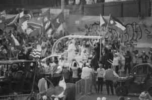 La Jornada Mundial de la Juventud (JMJ) permitió la vivencia de la hermandad entre propios y visitantes, sin distingos de nacionalidad, raza ni religión. Foto: Epasa.