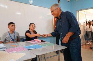 Blandón aspira a liderar la renovación del Panameñista. Foto de archivo