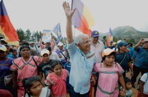 José Blandón sumará 1,000 kilómetros de Cambio Profundo. Foto de cortesía