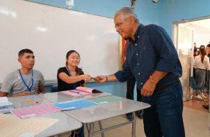 El candidato no alcanzó el apoyo de todos los panameñistas. Foto de archivo
