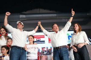 José Gabriel Carrizo, compañero de fórmula de Laurentino Cortizo, es citado por supuesta violación al Código Electoral. Foto: Panamá América.