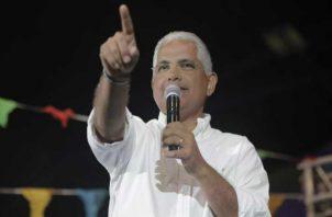 José Isabel Blandón fue el candidato presidencial del Partido Panameñista en las pasadas elecciones.