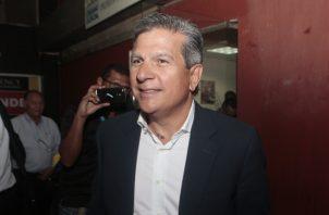 El hermano del expresidente Juan Carlos Varela acudió a declarar. Foto de Víctor Arosemena