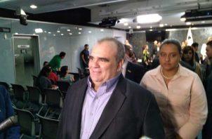 José Montenegro, de Anati, durante su comparecencia en la Asamblea. Foto de Epasa