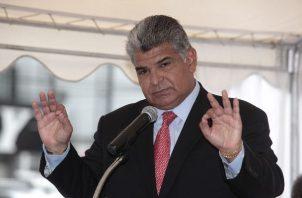 El exministro de Seguridad José Raúl Mulino considera que no se le puede juzgar a Ricardo Martinelli por ningún otro caso.