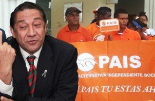 José Alberto Álvarez adelantó que tienen la  opción de correr por el Molirena. Archivo