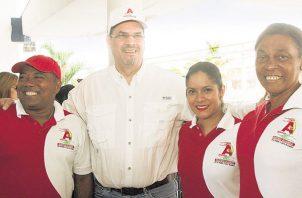 José Domingo Arias: 'Somos un partido pequeño, pero nos mantendremos de lado de los intereses de la mayoría de los panameños'. /Foto Víctor Arosemena