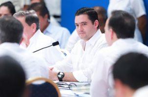El vicepresidente de la República, José Gabriel Carrizo, se refirió al anteproyecto de Ley que regula el control migratorio.