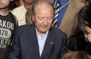 El empresario Josep Lluís Núñez estuvo al frente del FC Barcelona por 22 años. Foto:EFE