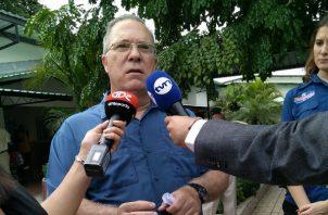 José Luis Fábrega, alcalde de Panamá.