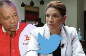 José Muñoz y Ana Matilde Gómez han denunciado desinformación. Archivo
