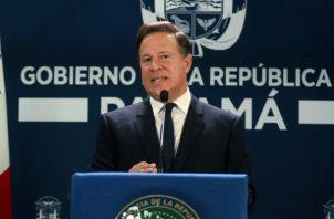 Presidente Juan Carlos Varela. Foto/archivo