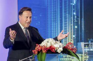 Juan Carlos Varela invita a un coctel para celebrar '5 años de éxitos de gestión'. Foto: Panamá América.