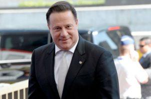 Juan Carlos Varela fe denunciado penalmente por presuntos vínculos con Odebrecht. Foto: Panamá América.