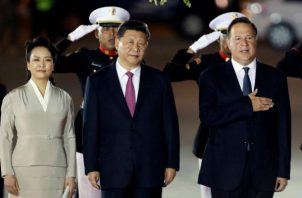 Viaje 67 del presidente Juan Carlos Varela; se va de gira oficial a China. Foto: Panamá América.