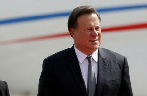 Surge una denuncia contra Juan Carlos Varela por tema de 'narcopolítica'. Foto: Panamá América.