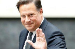 El presidente Juan Carlos Varela viajó a Europa. Foto: Archivo
