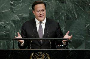 Juan Carlos Varela viaja a 73ª sesión de la Asamblea General de Organización de las Naciones Unidas. Foto/EFE