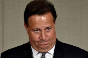 Juan Carlos Varela se mantiene en el poder hasta dentro de ocho meses, cuando ceda el puesto. /Foto: Panamá América