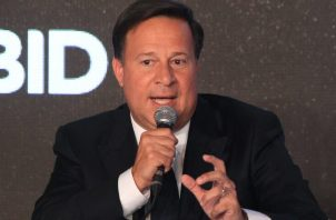 Juan Carlos Varela, presidente de la República de Panamá.