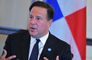 La gestión del presidente Juan Carlos Varela ha sido una de las más cuestionadas. Archivo