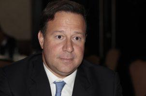 Juan Carlos Varela impulsó este programa como uno de sus principales. Foto de archivo