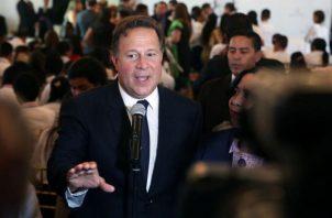 Juan Carlos Varela pide respeto para ratificación de nuevos magistrados