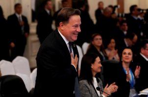 Juan Carlos Varela realizó diferentes actos de condecoración y honores a su equipo de trabajo.