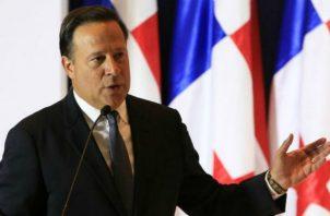 El presidente Juan Carlos Varela convocó a sesiones extraordinarias para que se aprobara ese proyecto en beneficio de Minera Panamá.