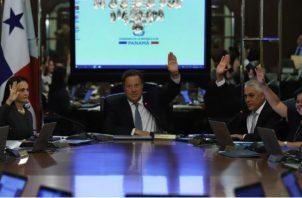 Gabinete Juan Carlos Varela. Foto/Archivos