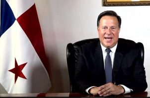 Juan Carlos Varela se despide como presidente de Panamá en cadena nacional.