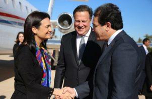 Juan Carlos Varela viaja a Marruecos. Foto/Cortesía