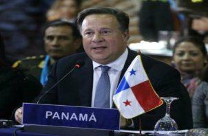 Cinco años no eran suficiente para cumplir a cabalidad los proyectos, dijo el presidente Juan Carlos Varela.